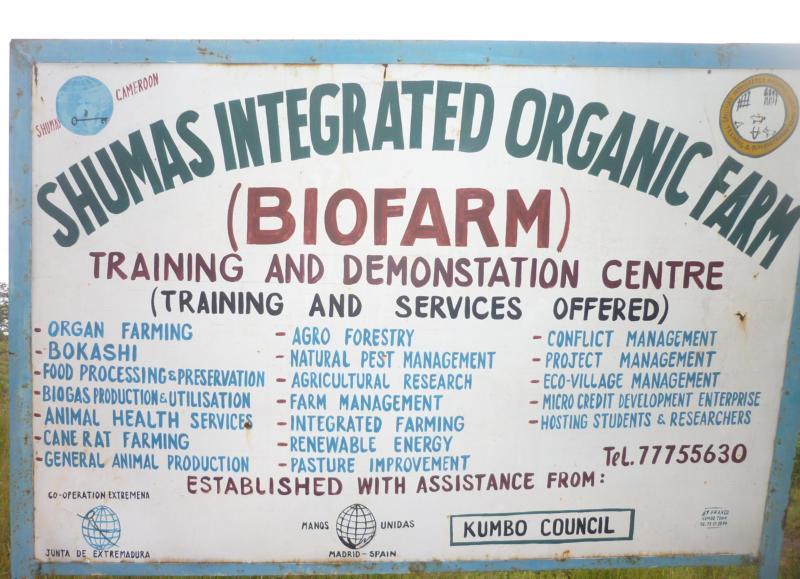 biofarm signboard